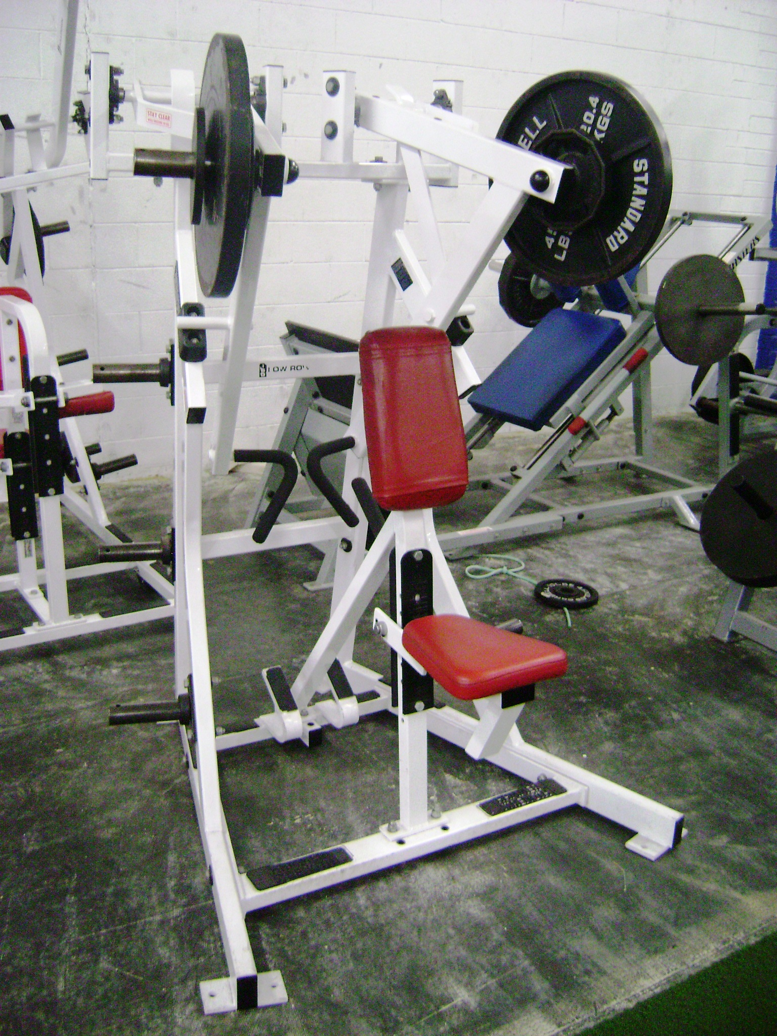 Hammer Strength Row Machine http://barbellsales.com/plateloaded.html